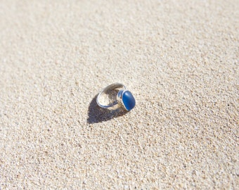 Lost at Sea glass ring