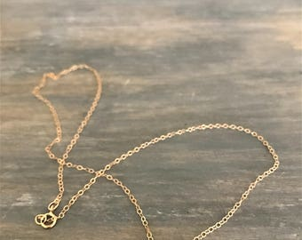 Dainty Personalized Charm Necklace, Lowercase Initial Necklace, Personalized Uppercase Initial Necklace, Gold Lowercase Initial Necklace
