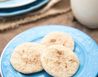 Two Dozen Eggnog Protein Cookies- Vegan, Vegetarian, Gluten Free, Sugar Free, Paleo, Clean Eating