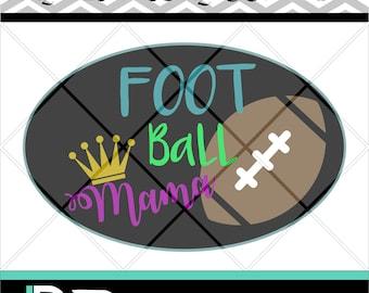 Football Mama svg, Design Studio, Saying svg, Quote svg, Files for cricut, Cricut Files svg, Clipart svg, Digital Dowload
