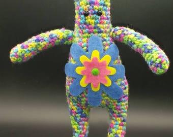 Amigurumi Flower Power-Bunny