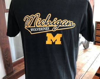 Vintage 1990's Michigan Wolverines T Shirt
