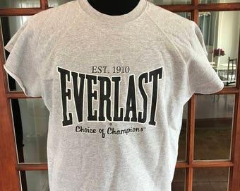 Vintage 1990's Everlast Boxing Gym Workout Top Shirt