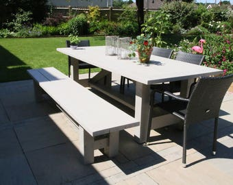 Rectangular Garden Table