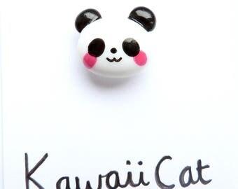 Panda Pin Kawaii Panda Jewellery Cute Kawaii Pin Kawaii Jewelry Panda Accessories