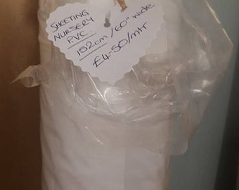 Sheeting - Nursery PVC (Sold per 1/2 metre)