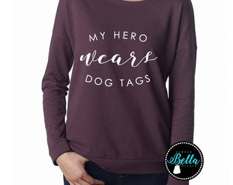 My Hero, Dog Tags, Military, Military Wife, Military Girlfriend, Military Love, Mom, Dad, Tanks, Gifts, Military Dog Tags, Military Support