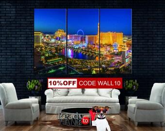 Las Vegas Wall Art las vegas | etsy