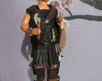 OOAK Barbie Axon Doll 7