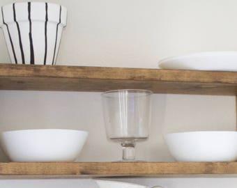 Wide Box Shelf - Shadow Box Shelf - Floating Shelf - Box Shelf - Floating Box Shelf - Box Shelves - Box