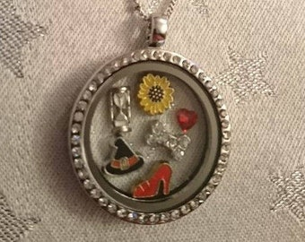 Wizard of Oz and Return to OZ Inspired Bespoke Floating Charm Lockets (Dorothy/Wicked Witch/Good Witch/Gifts for Her)
