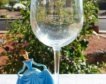 So This Is Love Wine Glass