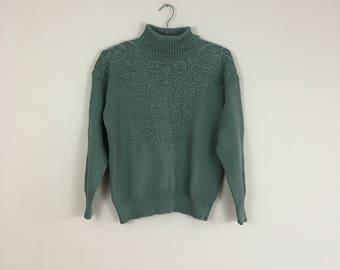 90's Turtleneck Sweater