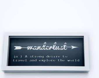 3D Stencil | Wanderlust