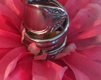 Stainless Steel Spiral Spoon Ring