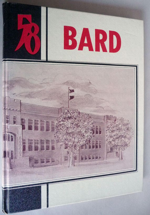 Burns Union High School Yearbook (Annual) 1958 The Bard, Volume 7 Harney County Oregon OR