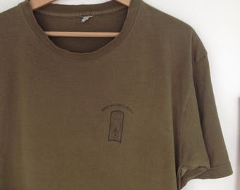vintage army shirt green M/L