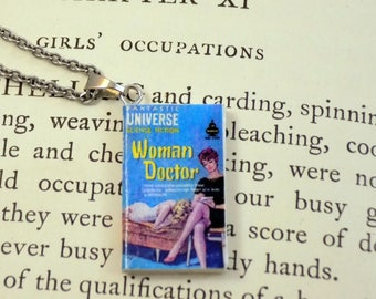 Woman Doctor - Book Pendant