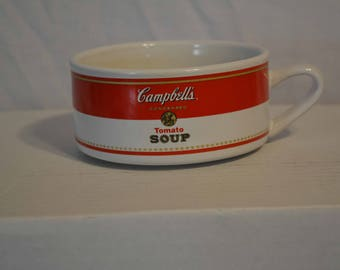 Campbell's Tomato Soup Bowl with handle
