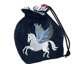 Dice Bag - Fantasy Pegasus