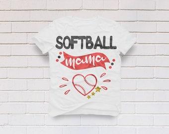 Softball mama svg, Softball svg, Baseball mama svg, Baseball svg, softball mama shirt, Baseball shirt, Cricut, Cameo, Svg, DXF, Png, Pdf Eps
