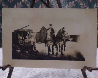 Antique Real photo postcard