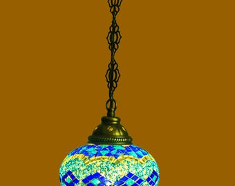 Mosaic Turkish lamps,pendant lamps,mason jar chandelier,unique light fixture,kitchen hanging lamp,hanging lampshades,agate nightlight