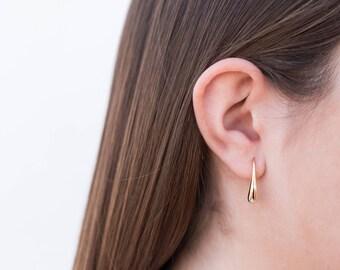 Silver earrings, Minimalist earrings, drop earrings, Silver jewelry, Trendy earrings, Sterling silver jewels, Dainty jewelry