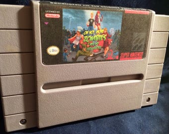 Oh No! More Zombies Ate My Neighbors SNES Game