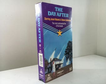 The Day After (1983) VHS - Nuclear War Movie