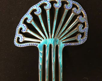Celluloid Hair Comb