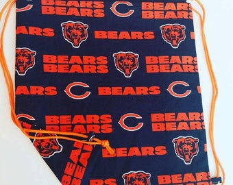 Bears Reversible Drawstring Bag