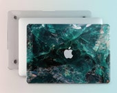 Green Marble Macbook Case Macbook Pro Case Macbook Air Hard Case Macbook 12 Inch Case Macbook 13 Inch Case Mac Laptop Case Pro Retina m015