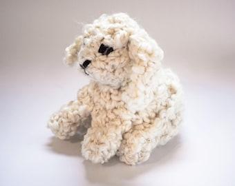 Bunny Rabbit Toy - Very Soft Crochet Bunny, Crocheted Bunny Rabbit, Bunny Plush Toy, Bunny Plushie, Bunny Amigurumi, Nursery Bunny Decor