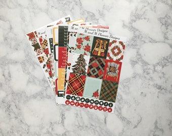 Erin Condren Weekly Sticker Kit - Noel