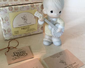 Vintage Precious Moments Happiness Is The Lord Figurine 12378