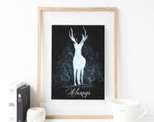 Harry Potter Always, Harry Potter Baby, Harry Potter Gift, Severus Snape, After All This Time Always, Deathly Hallows, Harry Potter Quotes