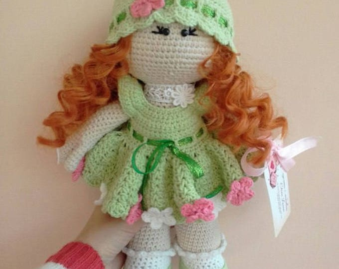 Amigurumi doll pattern Crochet Doll body pattern Amigurumi | Etsy | 539x680