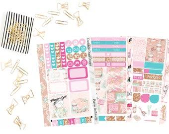 Planner Girl Mini Kit, planner stickers