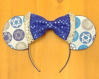 Hanukkah Themed Ears