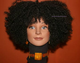 "READY TO SHIP //Synthetic crochet wig ""Afro diva wig"""