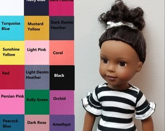 Top for 14.5 inch dolls such as Wellie Wishers- Choose Your Color