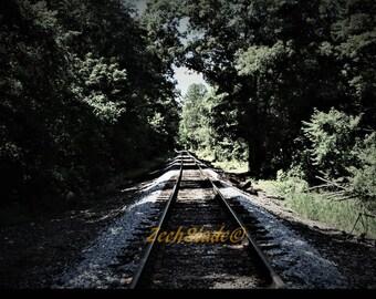 Railroad Tracks to Nowhere