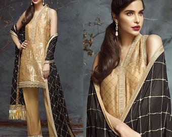 Anaya New Winter Collection 2017-(Midnights Sun) Party wear - Made to order