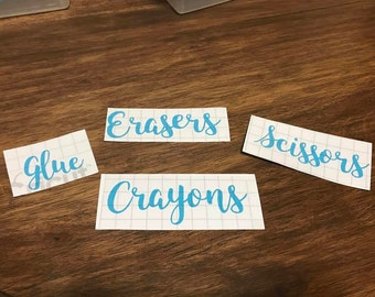 Classroom Labels (set of six)