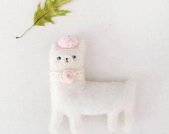 Pink Rose Alpaca