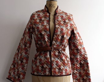 Vintage 1970s Quilted Jacket