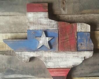 Scrap wood Texas. Texas Star. Reclaimed Wood. Pallet Wood. Rustic. Distressed.