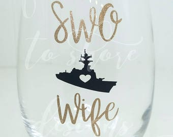 SWO Wife Stemless Wine Glass