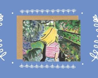 Illustrated Greeting card | gammell, design, illustration, print, art